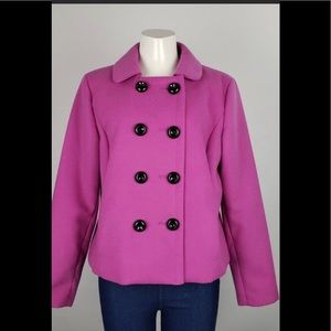 Jones New York purple jacket size 14